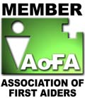 Member of the Association of First Aiders logo
